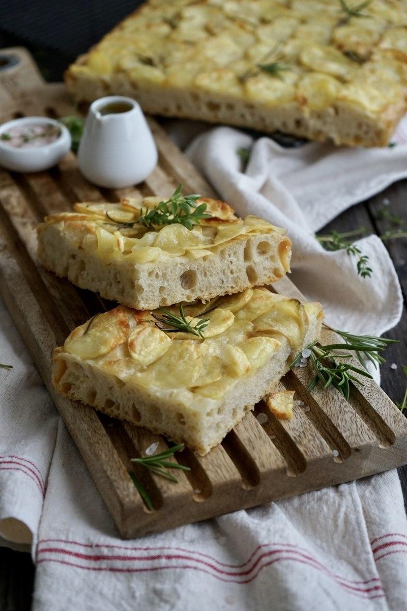 Rezept Kartoffel-Rosmarin-Focaccia