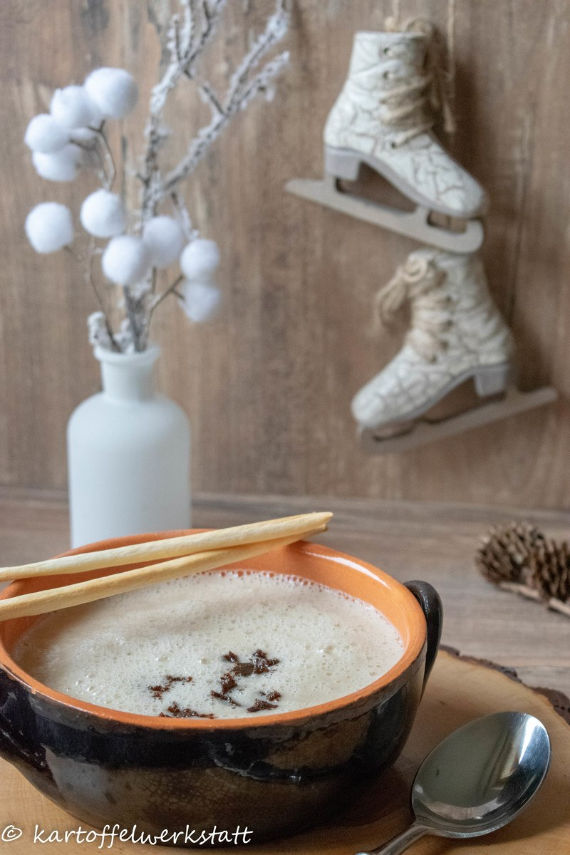 Rezept Kartoffel Schwarzwurzel Suppe mit Zimt