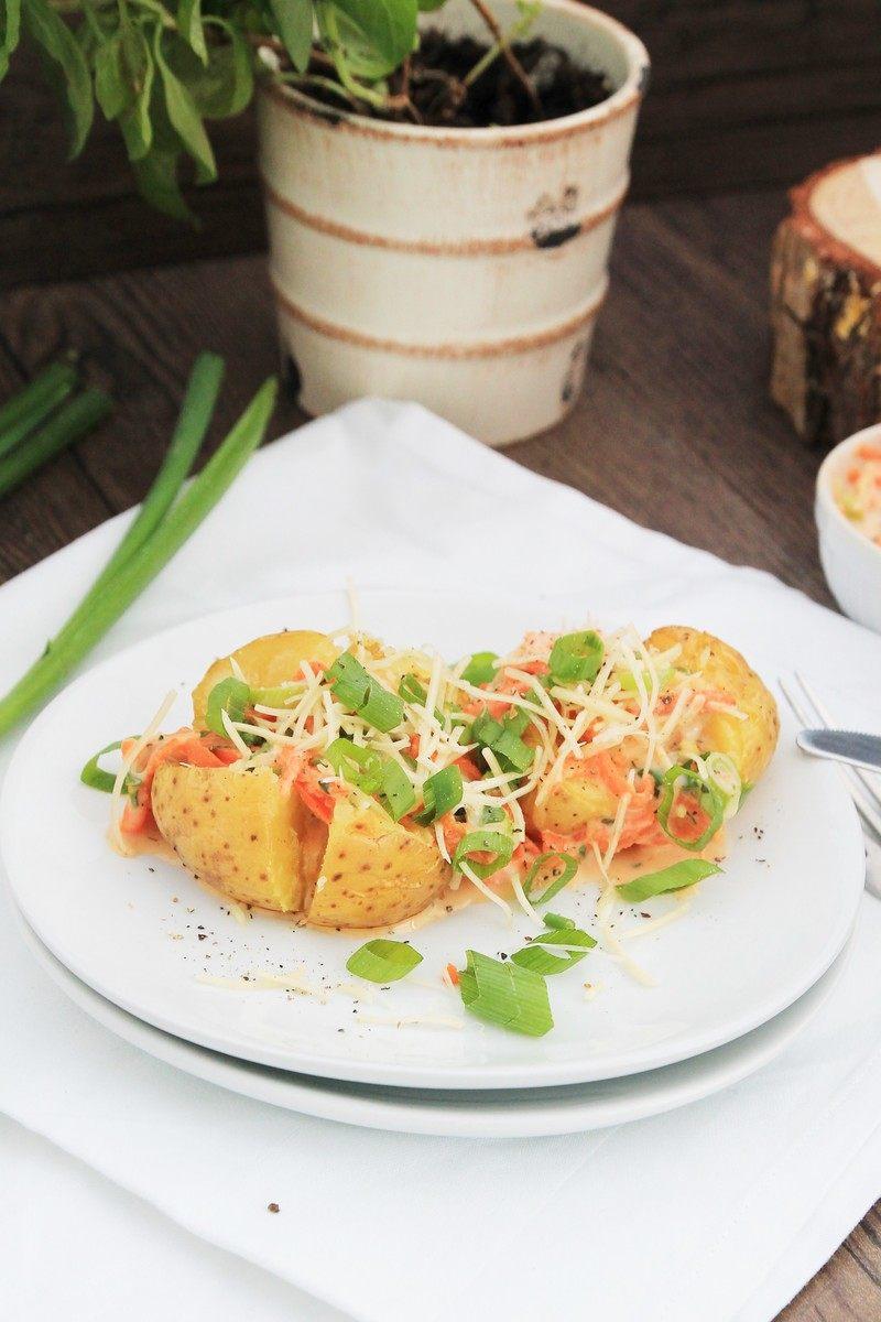 Rezept Kartoffeln mit Käse-Dip