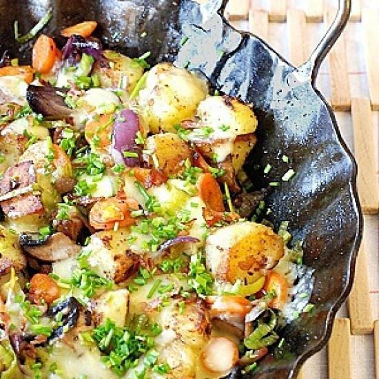 Rezept Kartoffelpfanne mit Käse