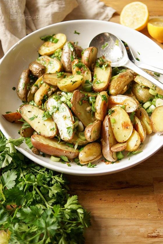 Rezept Kartoffelsalat mit Kapern und Zitrone