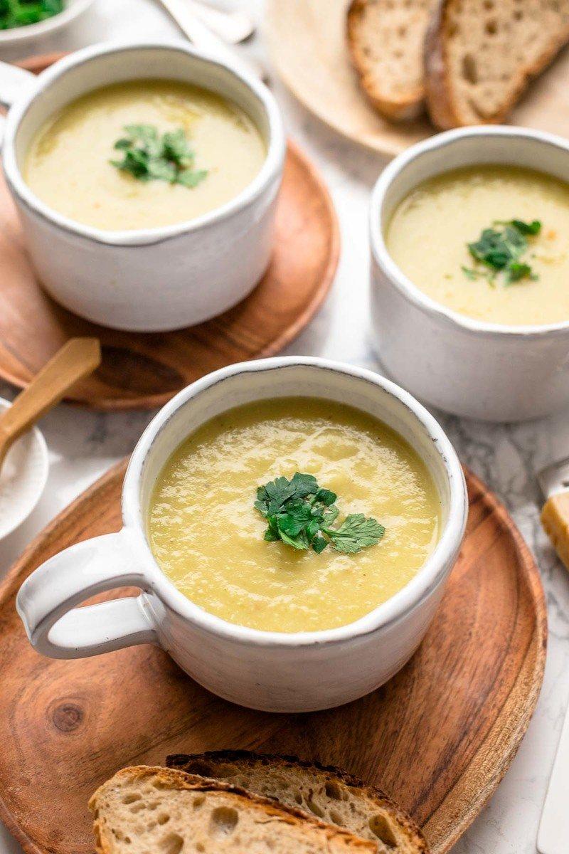 Rezept Kartoffelsuppe mit Pastinaken und Lauch