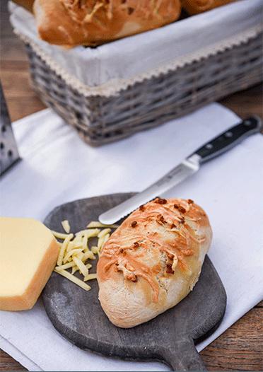 Rezept Käse-Baguette-Brötchen