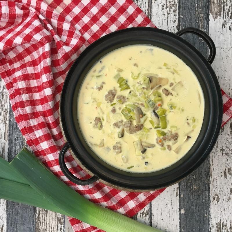 Rezept Käse-Lauch-Suppe
