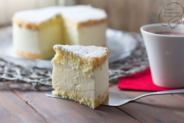 Rezept Käse-Sahne-Torte