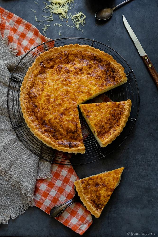 Rezept Käsefladen mit Senf