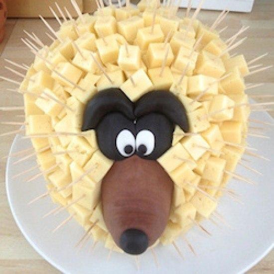 Rezept Käseigel zum runden Geburtstag