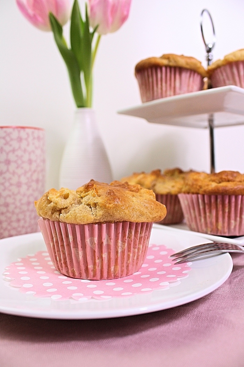 Rezept Käsekuchen Apfel Muffins