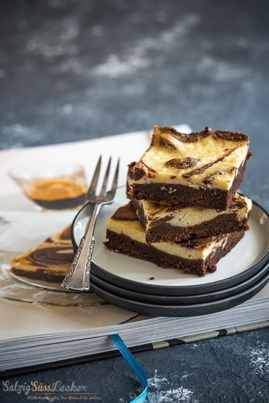 Rezept Käsekuchen Brownies