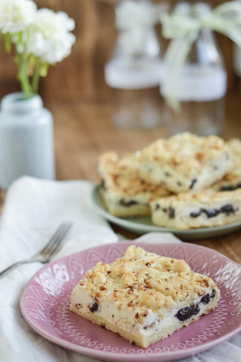 Rezept Käsekuchen mit Mohn und Streuseln