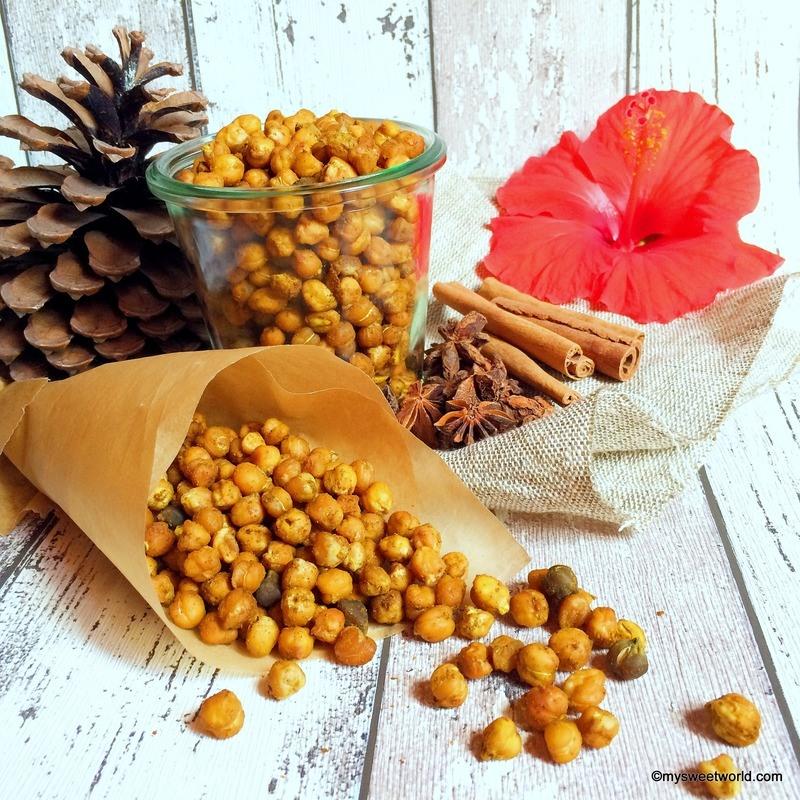Rezept Kichererbsen Snack,vegan und gesund