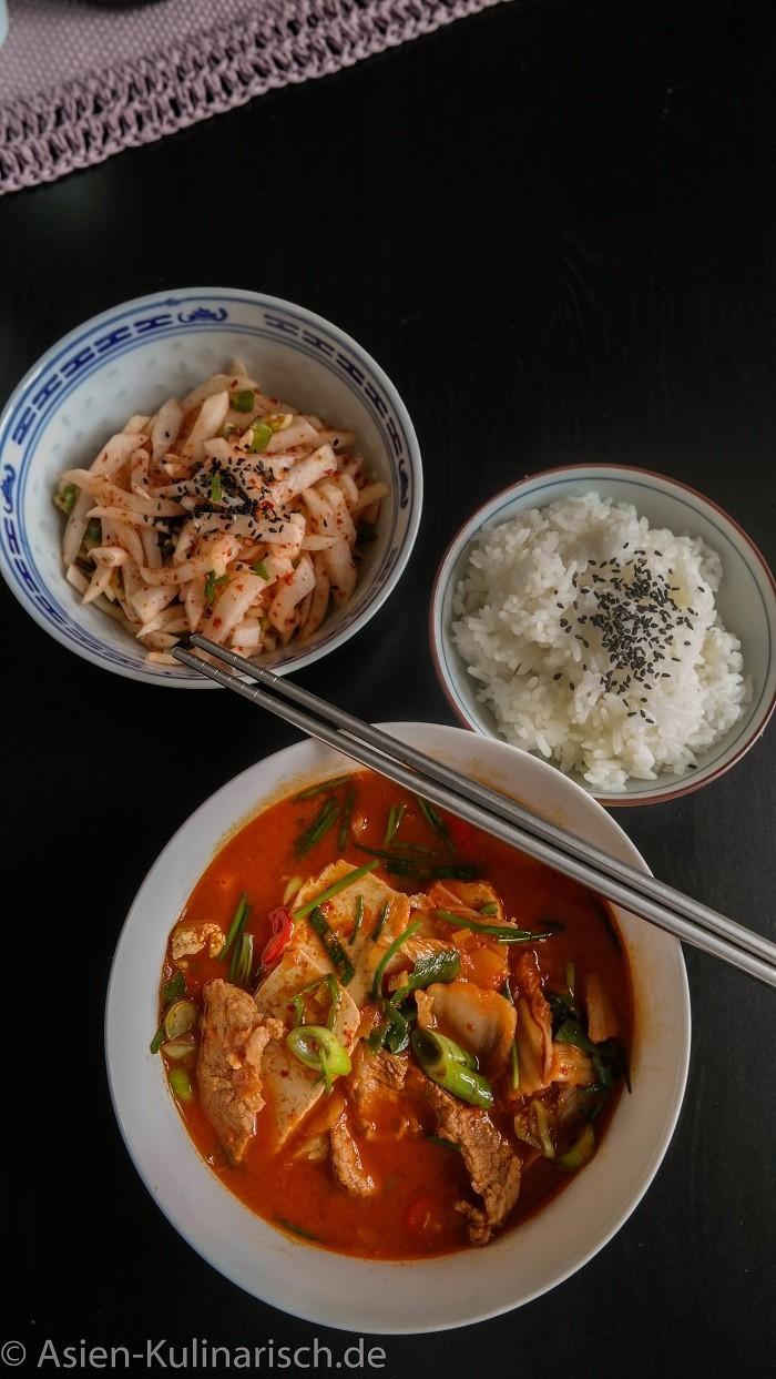 Rezept Kimchi Jjigae