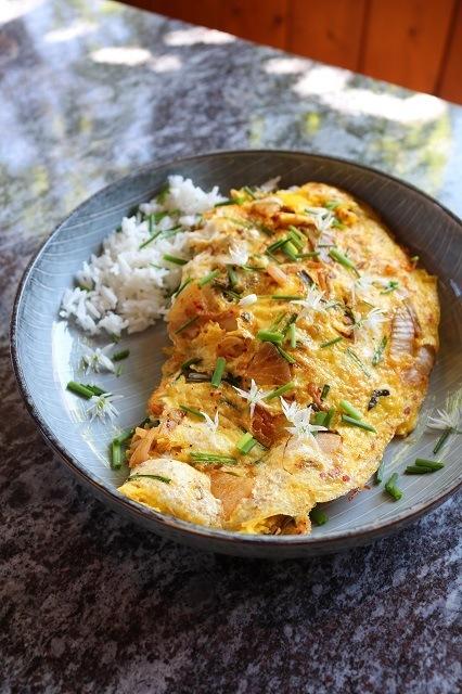 Rezept Kimchi Omlette
