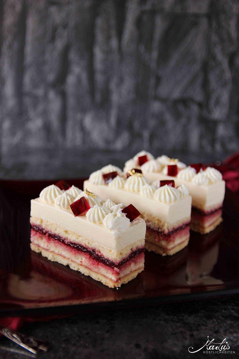 Rezept Kirsch-Cheesecake Schnitten