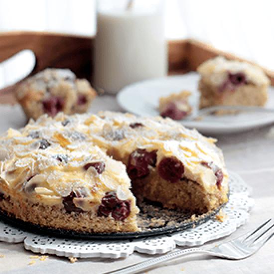 Rezept Kirsch-Mandel-Kuchen