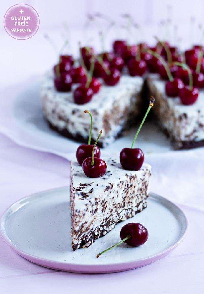 Rezept Kirsch-No-Bake-Torte