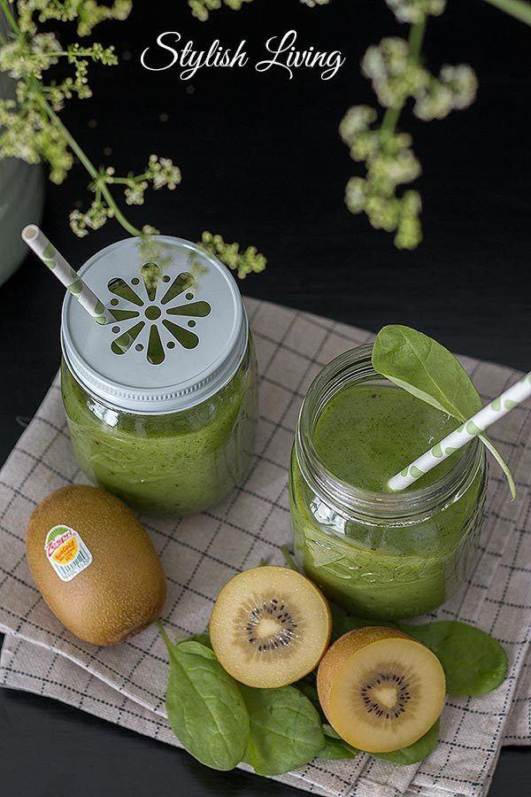 Rezept Kiwi-Bananen-Smoothie
