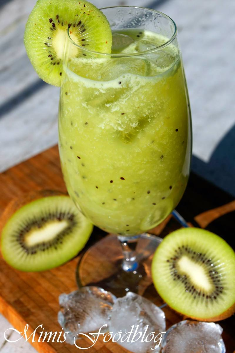Rezept Kiwi-Limonade mit Grapefruit und Holunder