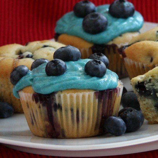 Rezept Klassische Blueberry-Muffins