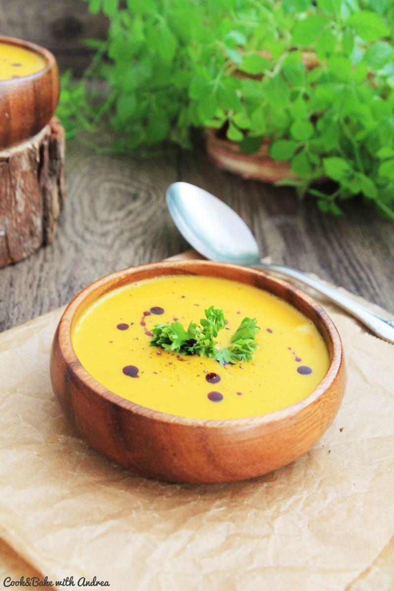 Rezept Klassische Kürbissuppe [vegan]