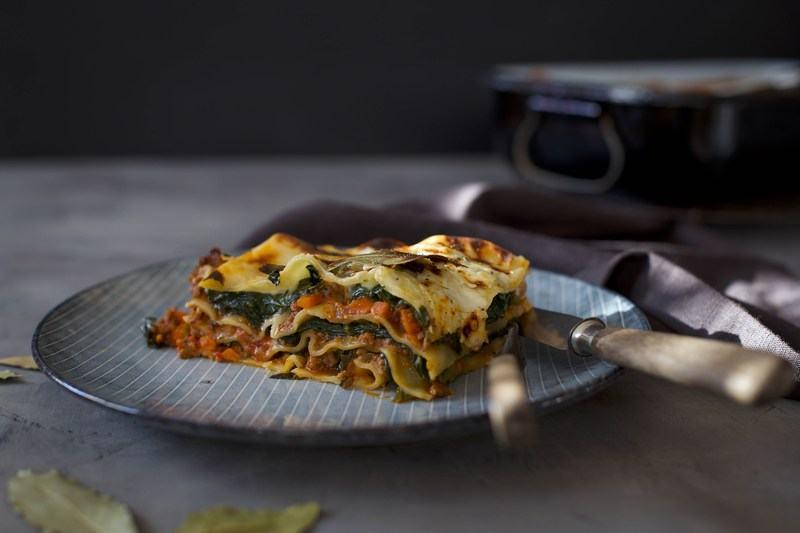 Rezept Klassische Lasagne mit Spinat