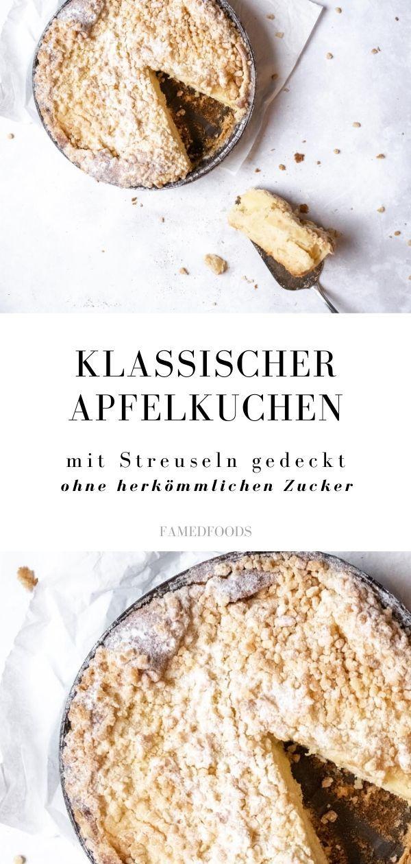 Rezept Klassischer Apfelkuchen mit Streuseln