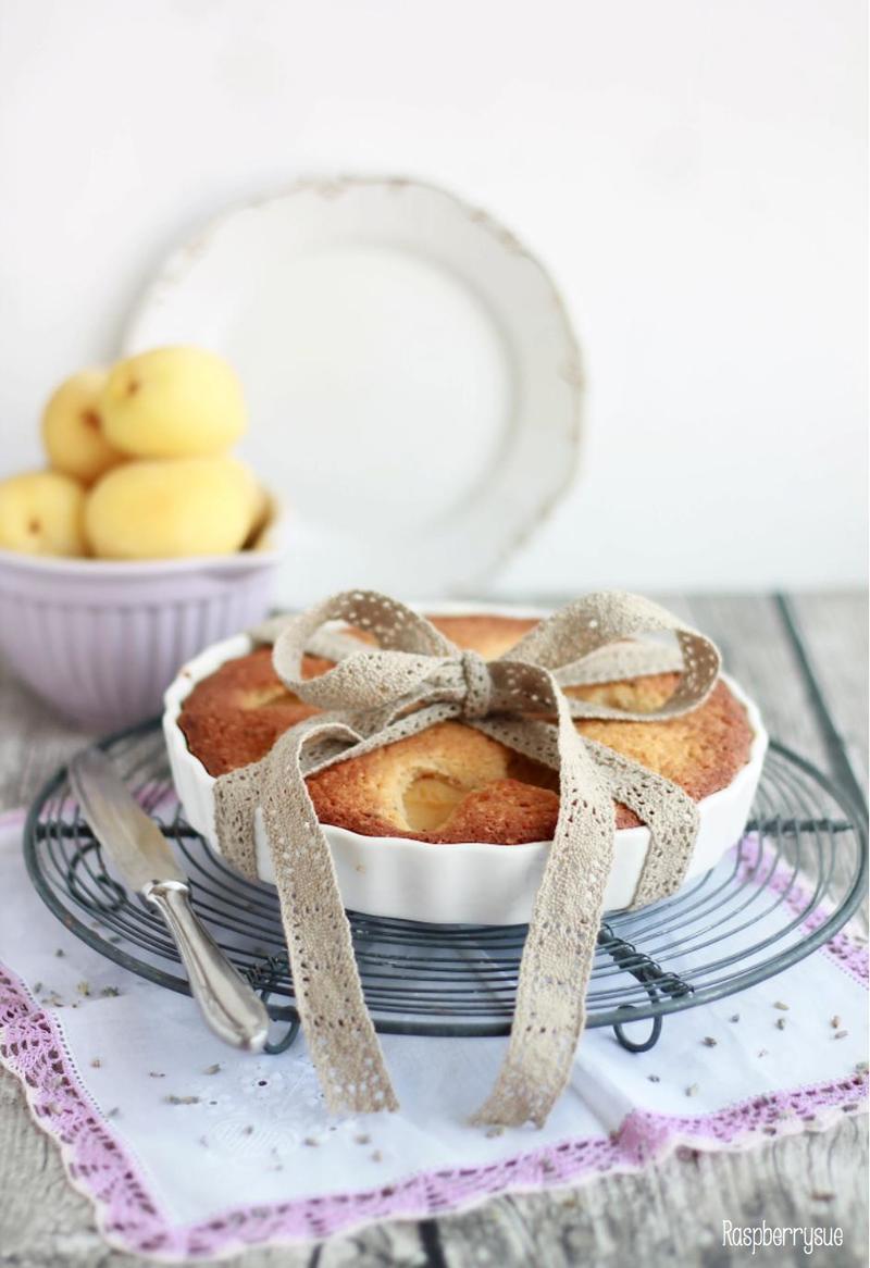 Rezept Kleine Aprikosentarte mit Lavendel