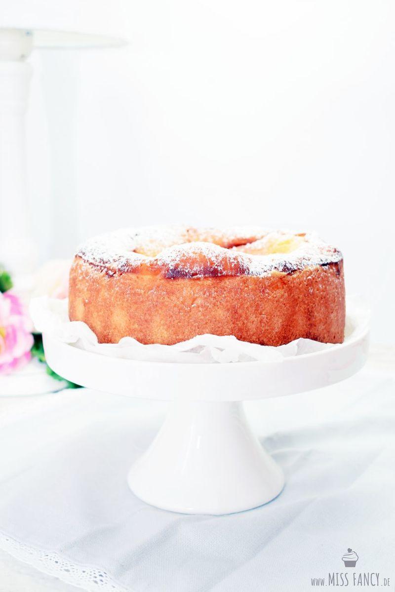 Rezept Kleiner Quarkkuchen mit einem Touch Orange