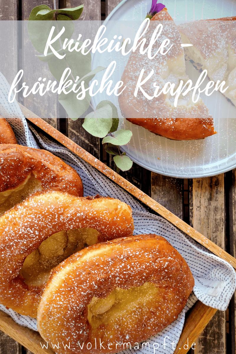 """Rezept Knieküchle – Fränkische """"Auszogne"""" Krapfen"""