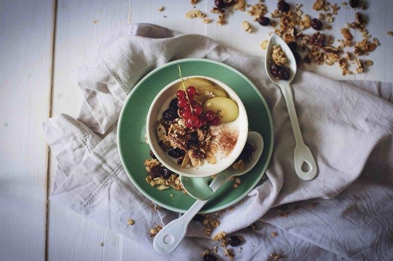 Rezept Knuspermüsli mit Pekannüssen und Cranberries