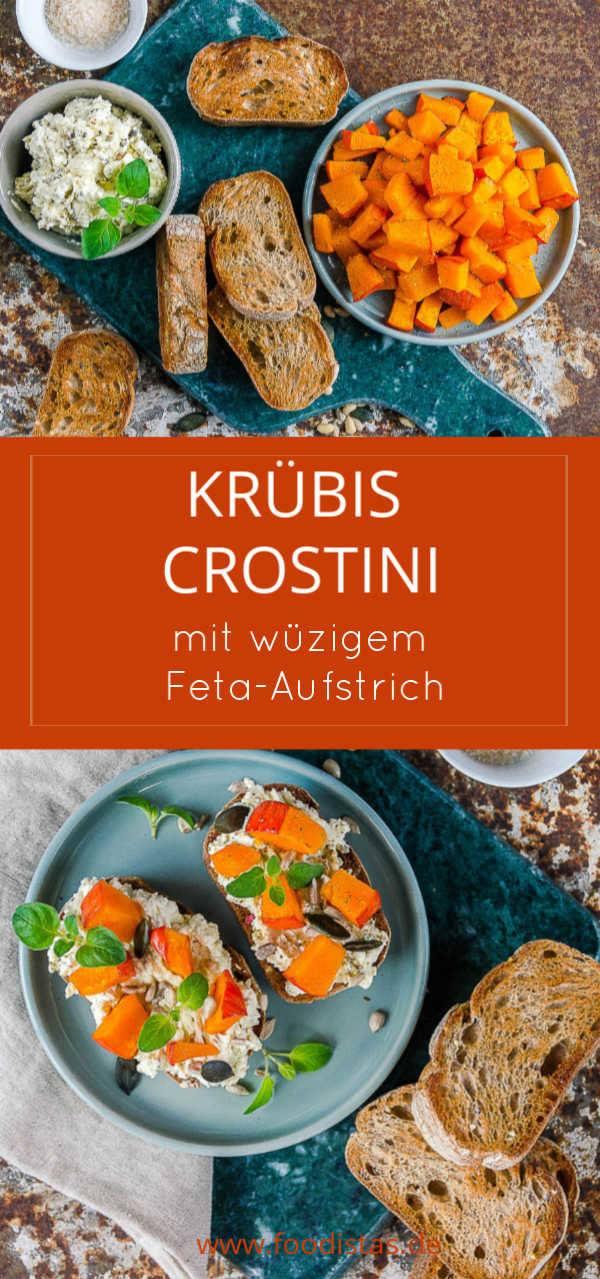Rezept Knusprige Kürbis Crostini