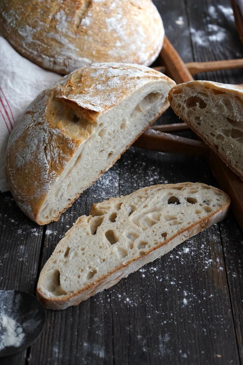 Rezept Knuspriges Weizenbrot mit Lievito Madre