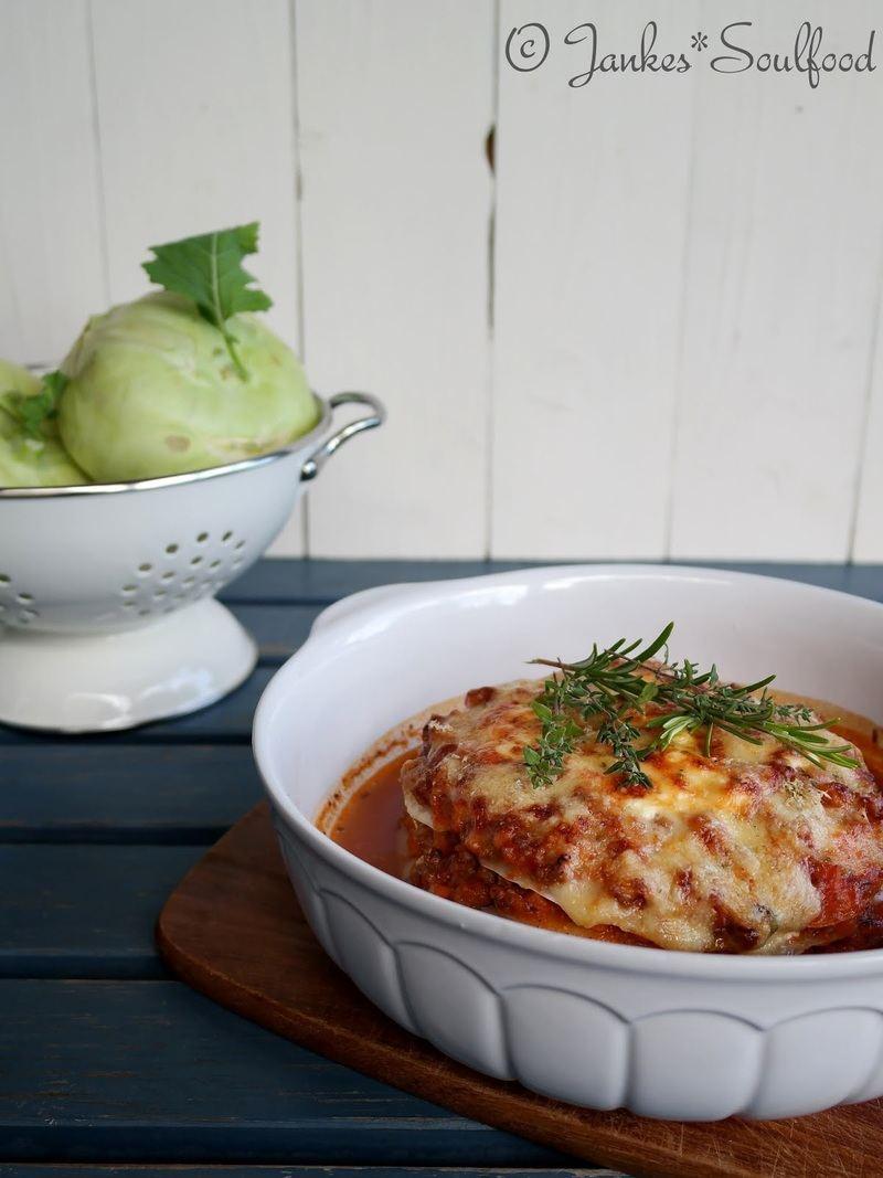 Rezept Kohlrabi-Lasagne