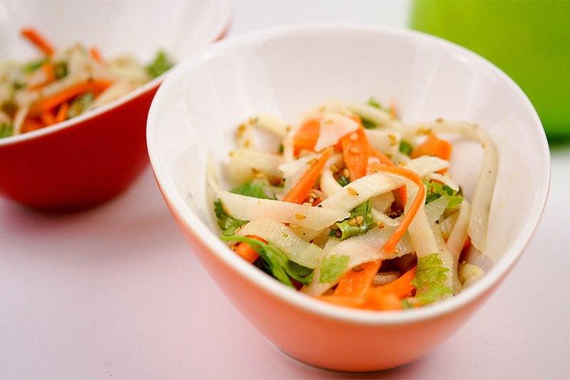 Rezept Kohlrabi und Karotten-Salat