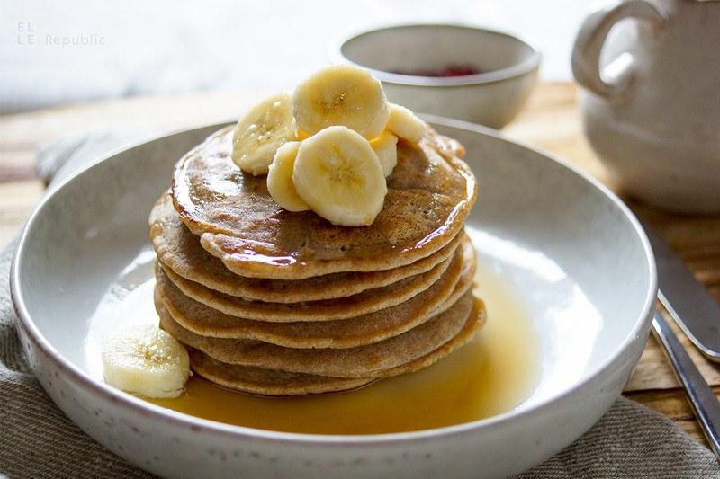 Rezept Kokos Buchweizen Pancakes