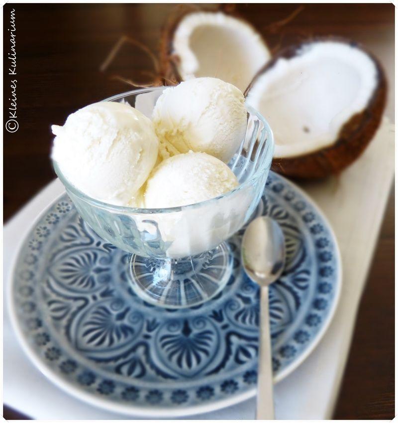 Rezept Kokos Eis