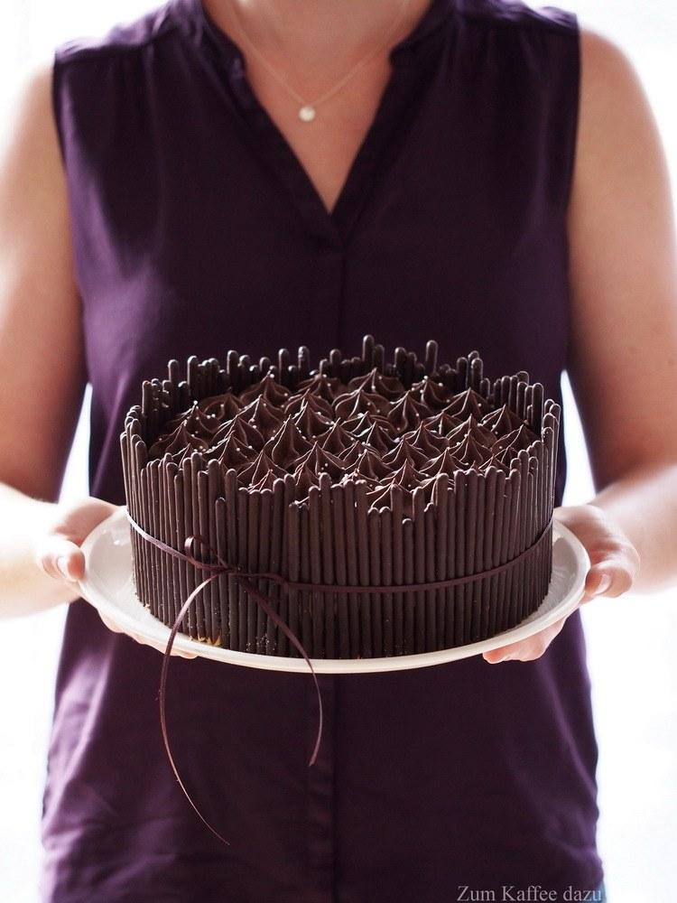 Rezept Kokos-Torte mit Zartbitterschokolade
