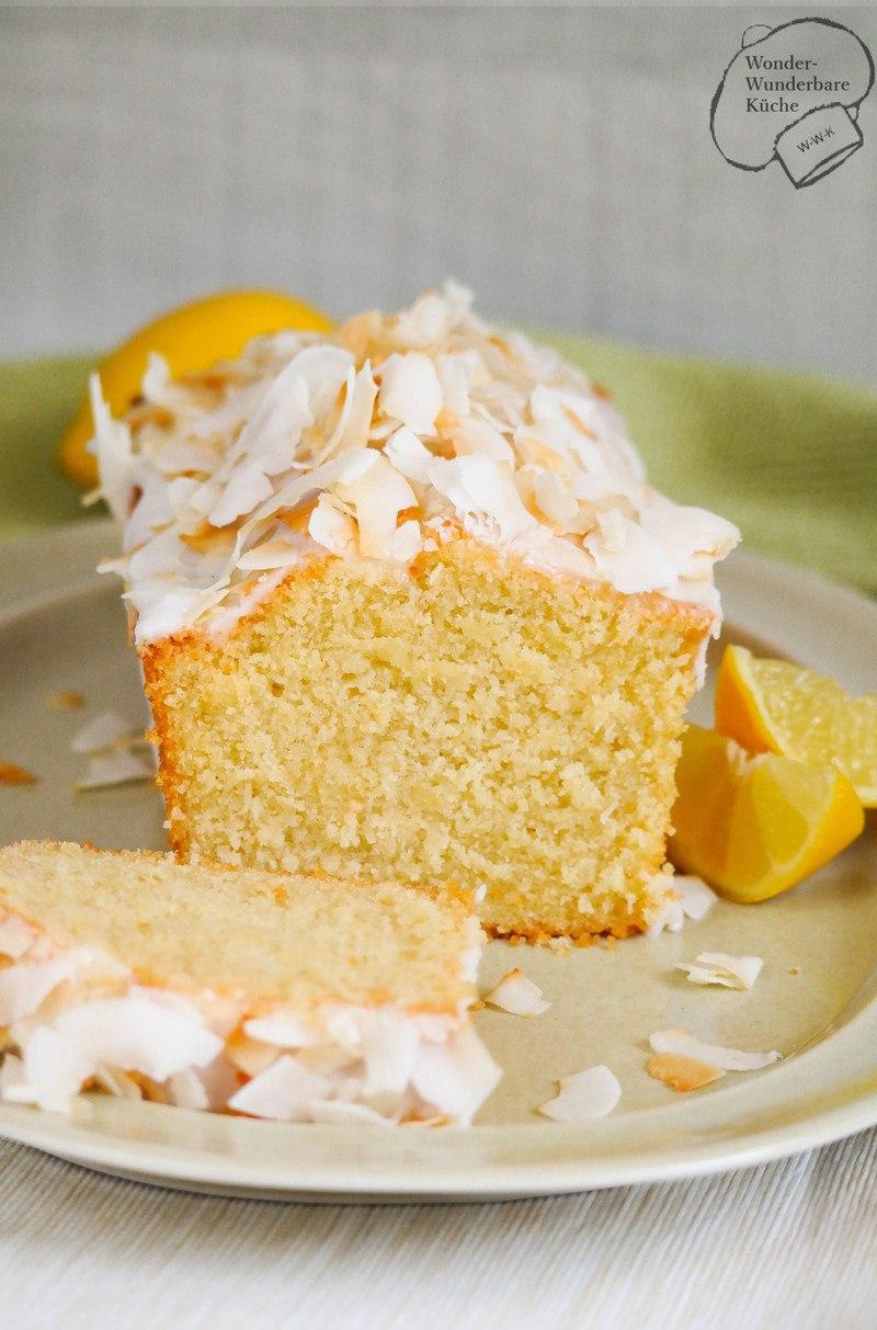 Rezept Kokos-Zitronen-Kuchen