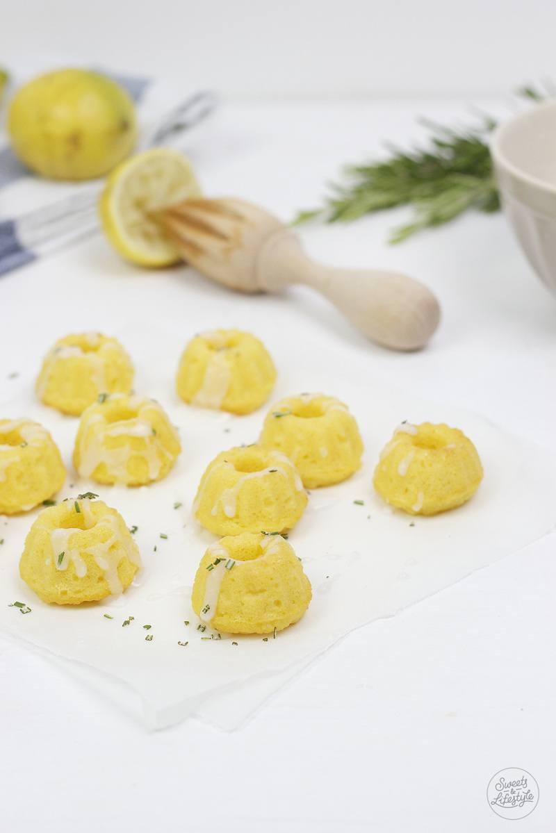 Rezept Kokos Zitronen Rosmarin Minigugls