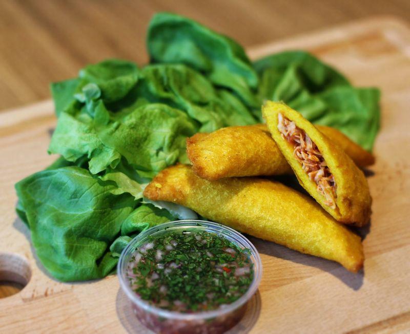 Rezept Kolumbianische Empanadas mit Pulled Chicken