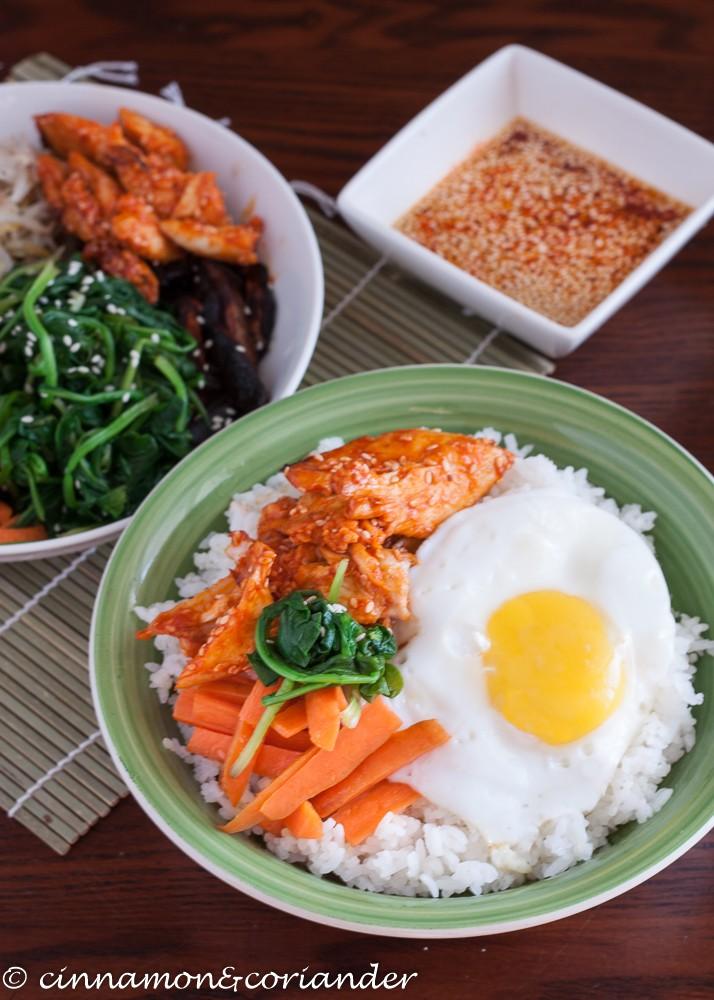 Rezept Koreanische Bibimbap Rice Bowls