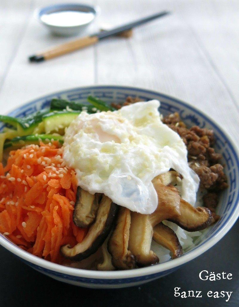Rezept Koreanisches Bibimbap