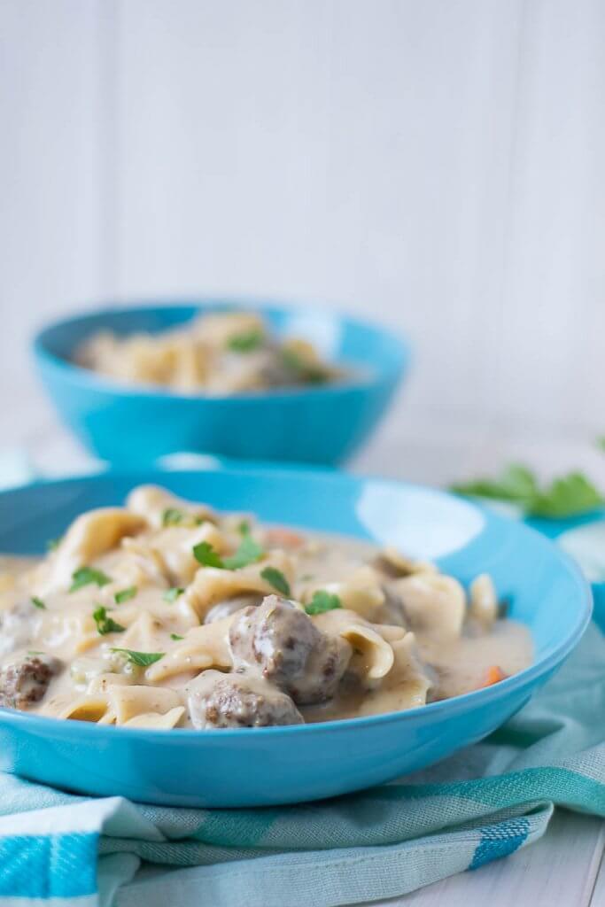 Rezept Köstliche Köttbullar Suppe