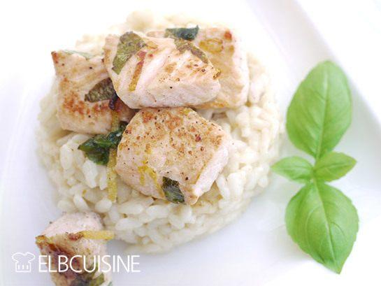 Rezept Köstliches Lachs-Sahne-Risotto