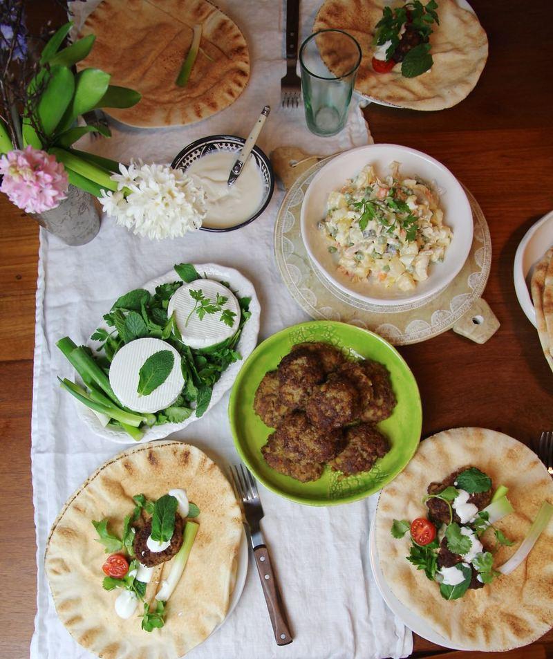 Rezept Kotelett - persische Frikadellen aus Hackfleisch und Kartoffeln