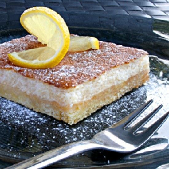 Rezept Kuchen mit Zitronen-Schaum