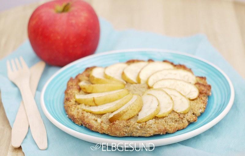 Rezept Kuchengenuss ohne Reue: himmlische Apfel-Pizza