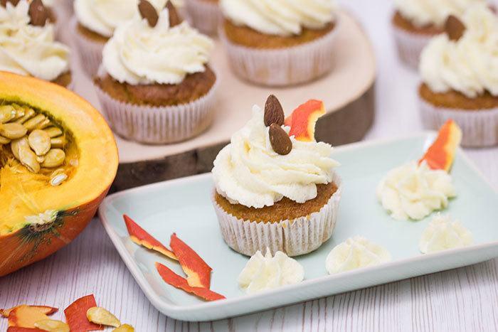Rezept Kürbis-Cupcakes