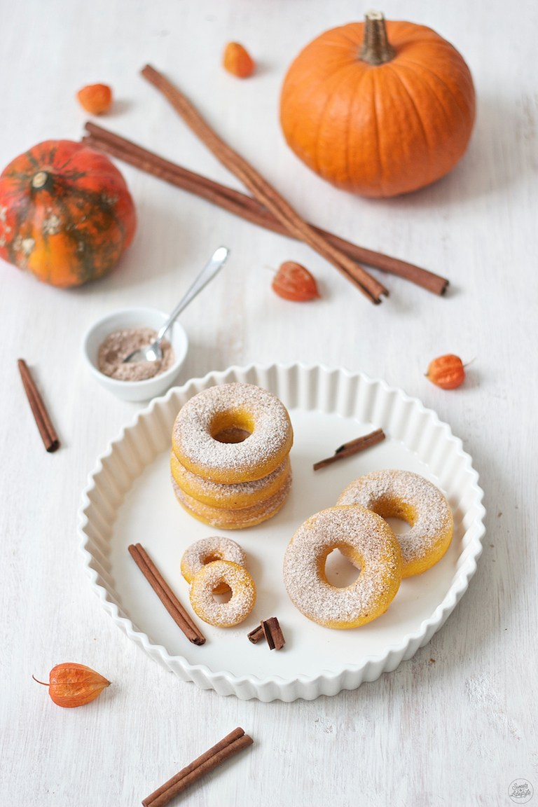 Rezept Kürbis Donuts