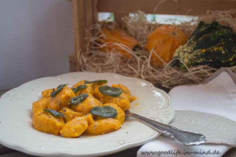 Rezept Kürbis-Gnocchi mit Salbeibutter